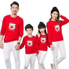 c81e86831a Christmas Red Color Family Matching Clothing   Price   13.04  amp  FREE  Shipping