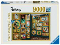Step into an art gallery totally devoted to the wonderful world of Disney! Ravensburger Puzzle, Aqua Doodle, Creating Games, Disney Puzzles, Math Stem, Different Art Styles, Comic Book Style, Frozen Disney, Hu Ge