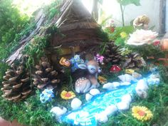 Garden fairy house decorationmini househandmade by Youmagic