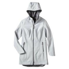 Raincoat season approaches...   Long Softshell Jacket   Target   $50
