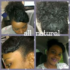 Loving my natural hair!