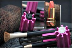 Every Beauty Cosmetic Tool Organizer: Allows you to click in eight standard-size lip and eye pencils, thin make-up brushes and corral the cosmetic clutter with style. everybeautybrand.com $8.00