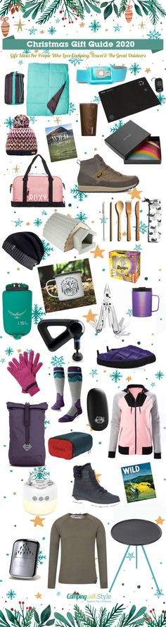 It's that time of year again! We're spreading some much needed Christmas cheer with our hand picked selection of Christmas gift ideas for people who love camping, travel and the great outdoors #christmas #gifts #christmasgifts #giftideas #christmasinspo #christmasinspiration #campinggifts #travelgifts #campingwithstyle #giftideas