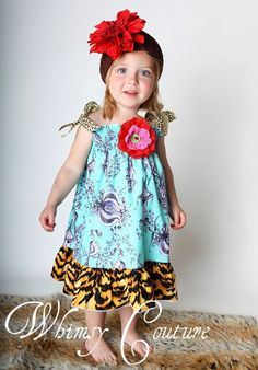 WHIMSY Couture. So many adorable Childrens PDF Sewing Patterns./Tutorials via…
