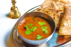 Katachi Amti is a spicy dal made from the leftover water from boiled chana dal used for making puran poli