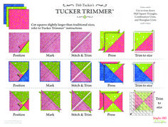 Quilting Tools, Quilting Rulers, Longarm Quilting, Quilting Tutorials, Quilting Projects, Quilting Designs, Sewing Projects, Quilt Patterns Free, Pattern Blocks