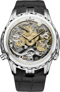 EDOX special edition Cape Horne 5 Minute repeater Limited Edtion | Raddest Men's Fashion Looks On The Internet: http://www.raddestlooks.org