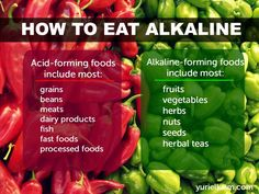 How to Eat Alkaline to Heal Your pH