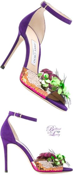 Brilliant Luxury by Emmy DE ♦ Jimmy Choo Annie Sandals