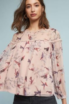 480b0879f37c0 Shop Peasant Tops at Anthropologie today, featuring the season s newest  arrivals as well as tried-and-true favorites.