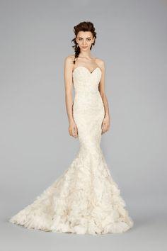 The Latest Lazaro #Wedding dresses. http://www.modwedding.com/2014/07/21/latest-lazaro-wedding-dresses/ #wedding #weddings #wedding_dress
