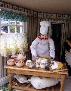 Dollhouses by Robin Carey: Life at Mornington Mews