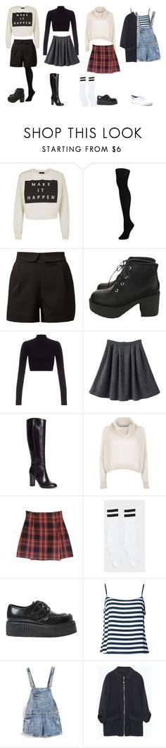 """""""Rachel Green Inspired Outfits"""" by samsus ❤ liked on Polyvore featuring Hue, Cutie, Lipsy, Brooks Brothers, River Island, Underground, Zara, Keds, friends and Inspired"""