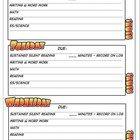 Homework Assignment Sheet - Weekly
