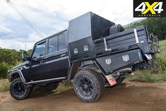 With its wicked-up turbodiesel and slick-shifting six-speed auto, this Toyota Land Cruiser mixes please with ease. Camping Diy, Camping Hacks, Iphone Background Beach, Pick Up, Landcruiser 79 Series, Ute Canopy, Big Yachts, Truck Bed Storage, Cruiser Boat