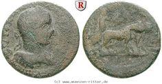 RITTER Kilikien, Anazarbos, Severus Alexander, Nike, Biga #coins