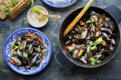 Recipe for mussels in tomato