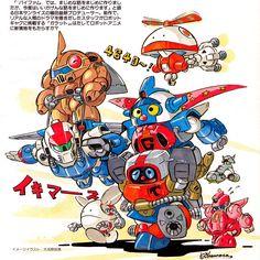 kinks3:  バイファムとガラット 大河原邦男