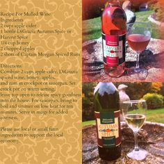 DiGrazia's tried and true recipe for mulled spice wine.