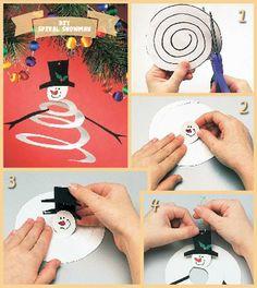 DIY Spiral Ornament Tutorial