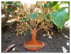 Poções de Arte: Árvore Guanandi.