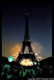 beatiful pictures of firworks in paris - Google 搜索