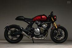 Red Hot Debut: Honda CBF600 by Custommade C.A. | Bike EXIF