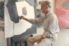Esteban Vicente, en su estudio de Nueva York. | Fotos cedidas por el Museo Esteban Vicente