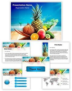 Italian pizza powerpoint template is one of the best powerpoint fresh fruits and beach powerpoint template is one of the best powerpoint templates by editabletemplates toneelgroepblik Images
