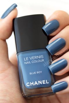 chanel blue boy