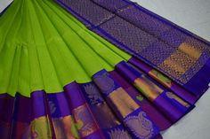 Kuppadam sarees Order what's app 7995736811 Cotton Saree, Silk Sarees, Dressing Sense, Saree Dress, Designer Clothing, Indian Beauty, Blouse Designs, Royal Blue, App