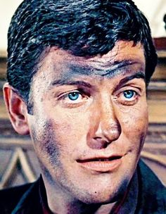 "Dick Van Dyke as Bert in ""Mary Poppins."" Look at those eyes!"