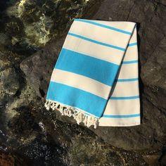Prosop de Plaja Sultan Italian Turcoaz Beach Mat, Outdoor Blanket, Towel, Green, Alternative