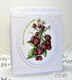 Berry It Digital Stamp Set