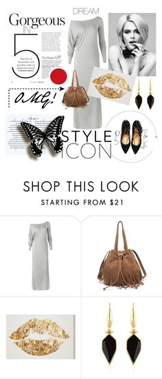 """""""maxi dress"""" by oasap ❤ liked on Polyvore featuring Isabel Marant"""