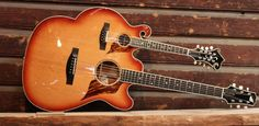 Strand guitar & mandolin in 1