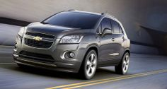 Chevrolet is expanding its model range with a compact sport utility vehicle (SUV). The new Chevrolet Trax is celebrating its premiere at the Paris Motor Show in September General Motors, Buick, Chevrolet Trax, Chevrolet Trucks, Used Chevy, 2017 Chevrolet Equinox, Brazil, Autos, Luxury Cars