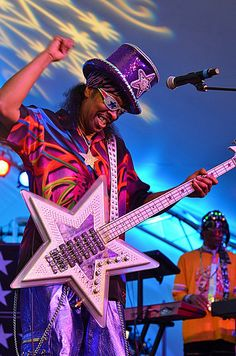 Funky Bootsy Collins Voodoo Music Experience, Halloween, Funk, Friday, October 26, 2012, Part II (Kim Welsh) by Offbeat Magazine, via Flickr