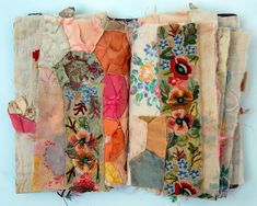 Inspiration: Embroidered Textile Art Books and Journals by Misako Mimoko Inspiration: Embroidered Textile Art Books and Journals by Misako Mimoko Textile Fiber Art, Textile Artists, Art Du Fil, Fabric Journals, Art Journals, Book Journal, Stitch Book, Fabric Art, Fabric Books