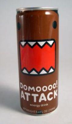 [SINGLE CAN] Domo-kun: Domoooo! Attack Energy Drink