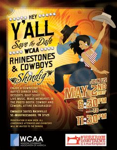 WCAA Rhinestones & Cowboys Shindig 2017 at CWC
