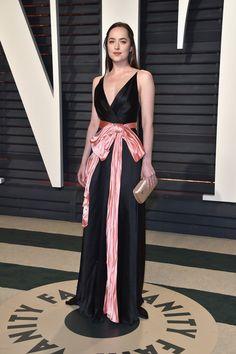 Oscars 2017: Dakota Johnson Gucci at the Vanity Fair Party | Tom + Lorenzo