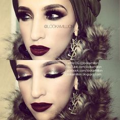 Playing with filter #lookamillion For list of all products used visit previous post Scarf: Plain khaki @HijabCandy .co.uk Earrings: @littlehouseofglamour Fur collar: @Sana Kanaan Lenses: @Desio eyes 'creamy beige' Lashes: @flutterlashesinc 'natasha' ❤THANKS SO MUCH FOR ALL YOUR SUPPORT❤ - @lookamillion- #webstagram