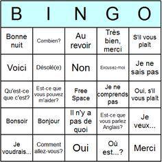Wedding games bingo ice breakers 50 Ideas for 2019 Ice Breaker Bingo, People Bingo, Human Bingo, Bingo Card Template, Core French, French Phrases, French Classroom, Bingo Games, Music Bingo