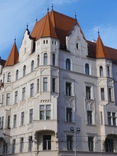 Houses of Prague (Holešovice), Czechia #Prague #houses #Czechia
