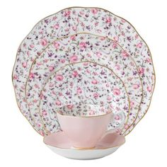Royal Albert New Country Roses Rose Confetti Vintage Formal Place Setting, 5-Piece Royal Albert http://smile.amazon.com/dp/B007AGRO3S/ref=cm_sw_r_pi_dp_2PSCvb0WF2X1R