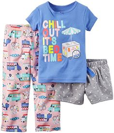 9ac8558a7 2-Piece Snug Fit Cotton PJs