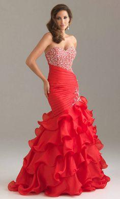 Mermaid Sweetheart prom dress prom dresses
