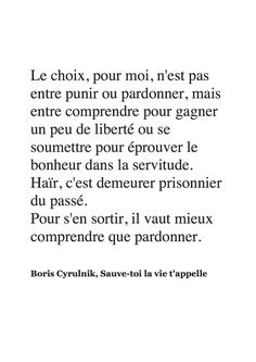 Quand vous comprends vous  pardonnes You Are Smart, You Are Important, Father Quotes, French Quotes, Favorite Words, Be Kind To Yourself, Positive Life, Cover Photos, Beautiful Words