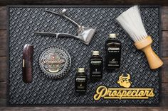 Let us help keep your tools and products neatly organized on our Prospectors barber mats. Available online in two colors. Barber Clippers, Iron Ore, Moisturize Hair, Hemp Oil, Barbershop, Tools, Black And White, Life, Products